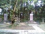 九代と十一代藩主夫妻の墓所もあったり